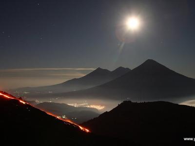 """Гватемала: к месту рождения человека озеру """"Атитлан"""", вулканы, царство майя """"Тикаль"""" и природа"""