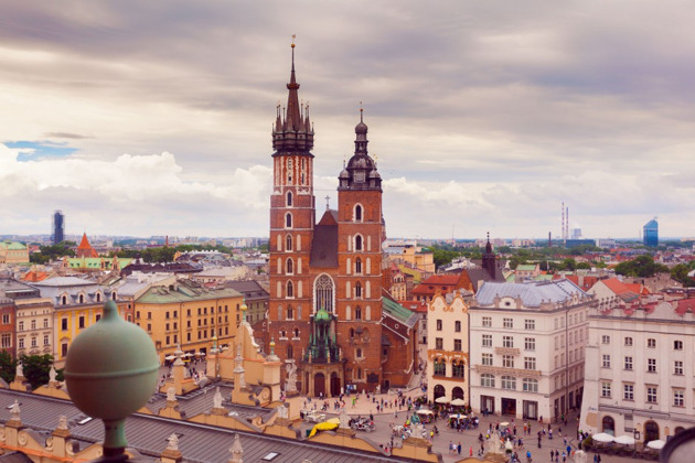 На один день из Варшавы в Краков! (с посещением Освецима или шахты Величка)