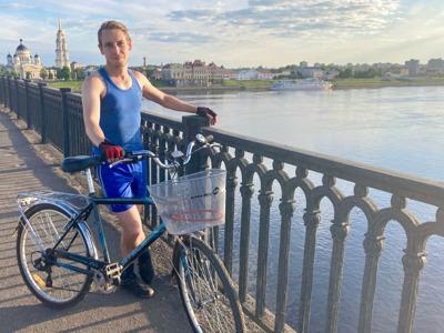 Велопрогулка по старому Рыбинску