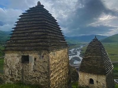 «Город мертвых» — поездка в Даргавс, к древнему некрополю