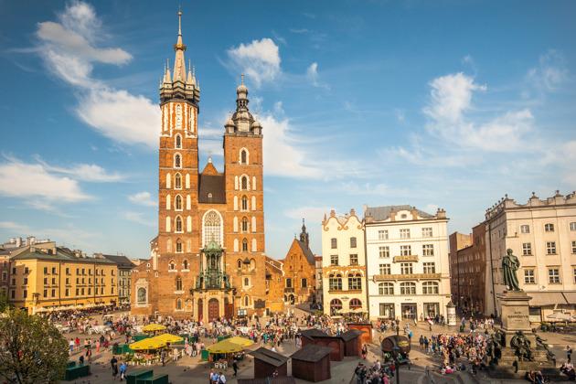 Выездная экскурсия из Варшавы в Краков. Королевский Краков + обед +Казимеж