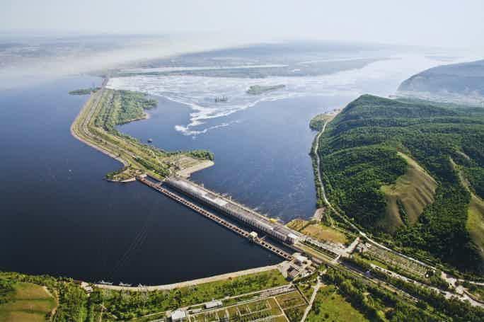 Волга и Жигули с обзорных площадок