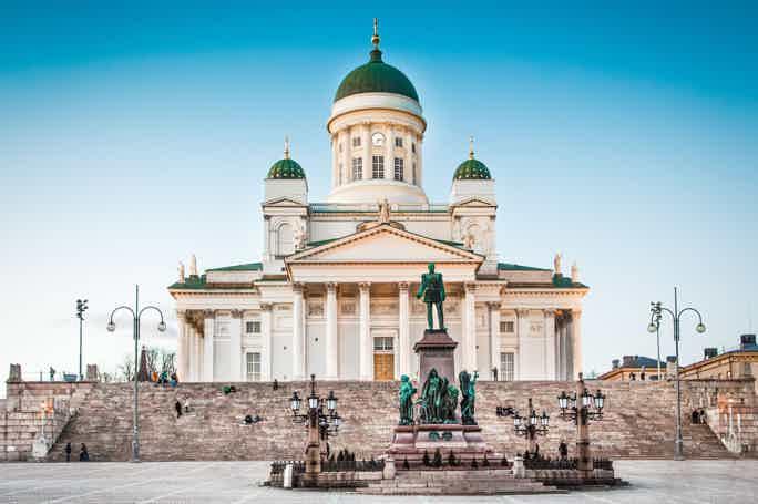 Променад по Хельсинки для путешествующих в одиночку.