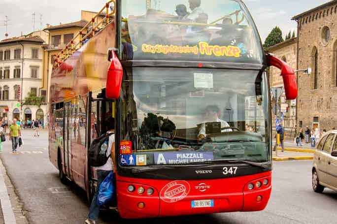 Флоренция: hop-on hop-off автобус на 24, 48 или 72 часа
