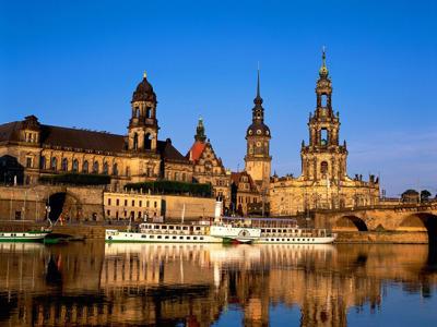 Дрезден из Карловых Вар