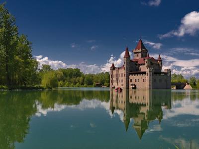 Замок на воде Шато-Эркен