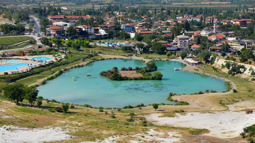 Неизвестное Памуккале и озеро Салда
