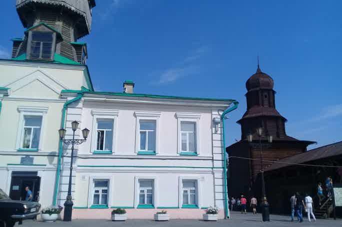 Из Новосибирска в старинный и чудесный Томск!