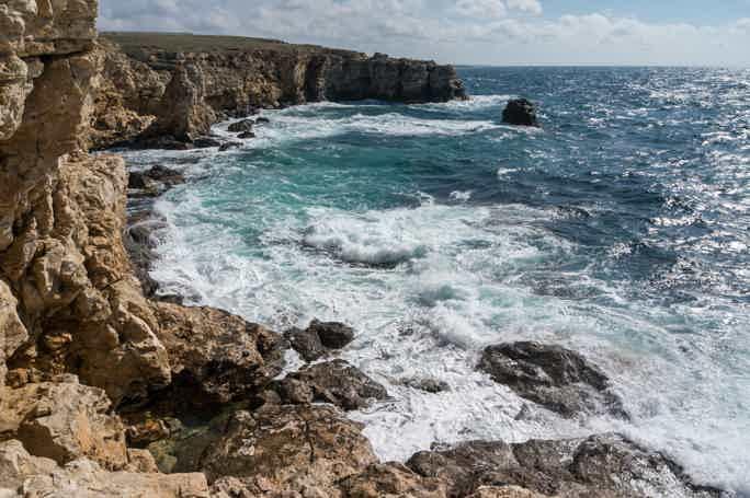Морская прогулка вдоль мыса Тарханкут и отдых на «Крымских Мальдивах»