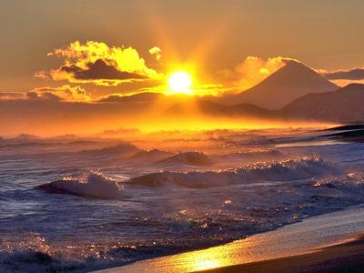 Поездка на побережье Тихого океана – Халактырский пляж