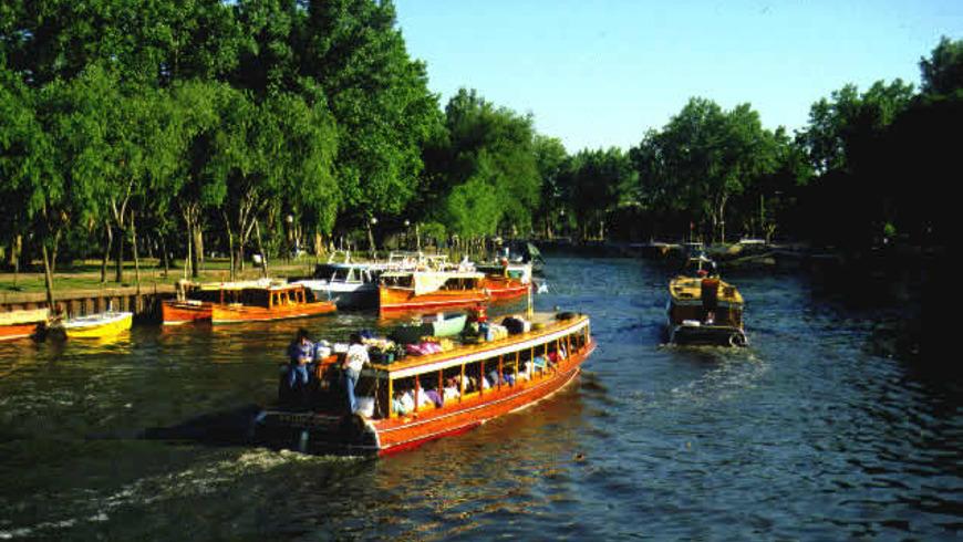 Экскурсия в город на воде — Тигре