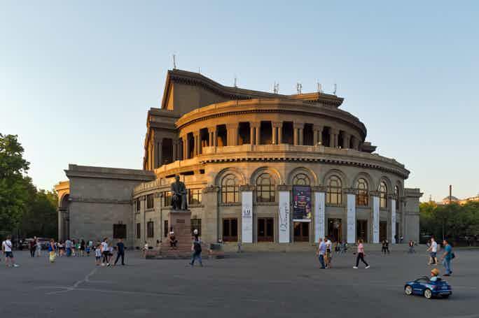 Пешком по улочкам Еревана