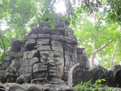 Бантей Чма — самый дикий храм Камбоджи