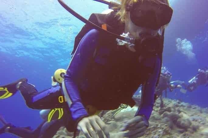 Дайвинг - знакомство с подводным миром