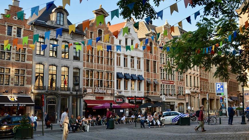 Экскурсия на авто по Брюсселю