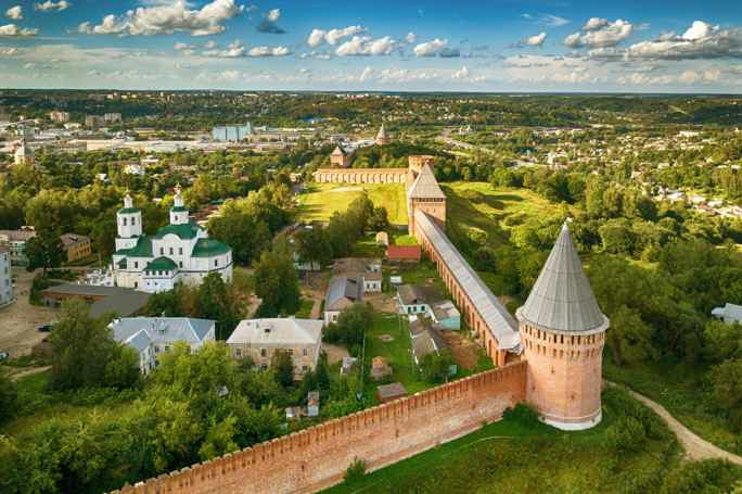 Смоленск: вдоль и поперек