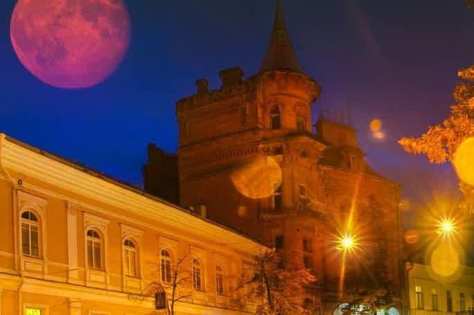 Ночь в Замке Барона (с посещением особняка)
