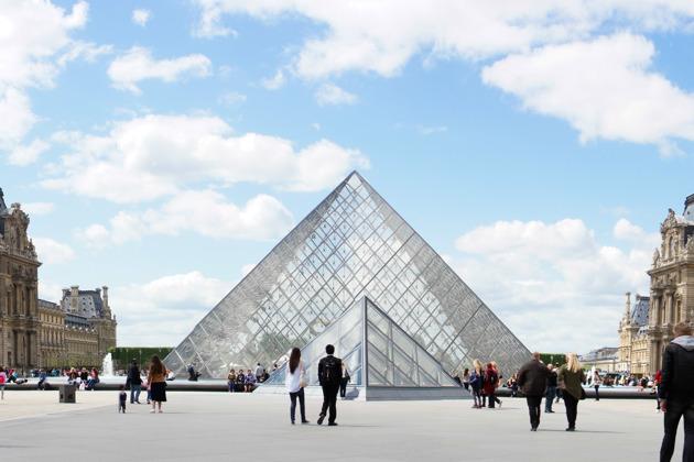 Первое посещение Лувра - вечерняя прогулка по музею