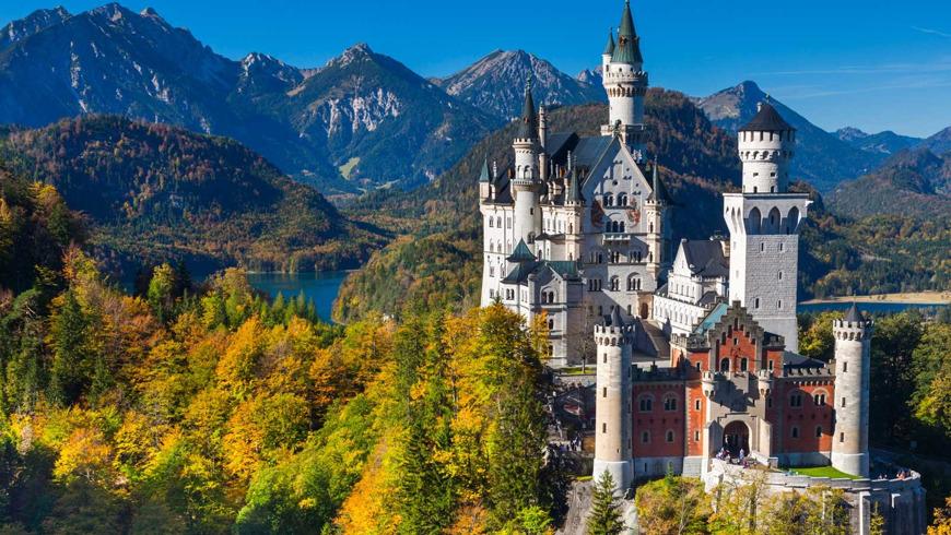 Экскурсия в замок Людовика II Нойшванштайн из Тироля