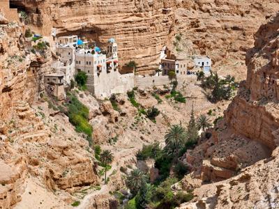 Иерихон; Вади-Кельт; Монастыри Иудейской пустыни; Каср аль-Йехуд (из Акко)
