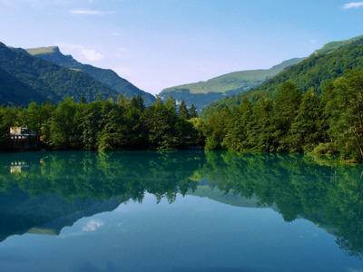 Балкарское ущелье и голубые озера