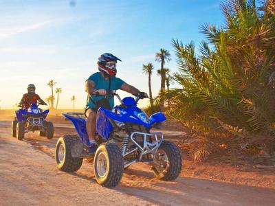 Марракеш: тур на квадроцикле через пустыню и пальмовую рощу