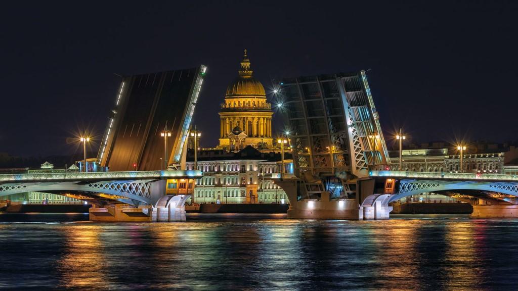 разведение благовещенского моста