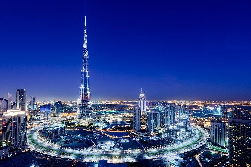 Дубай здание бурдж халифа дом в дубае недорого