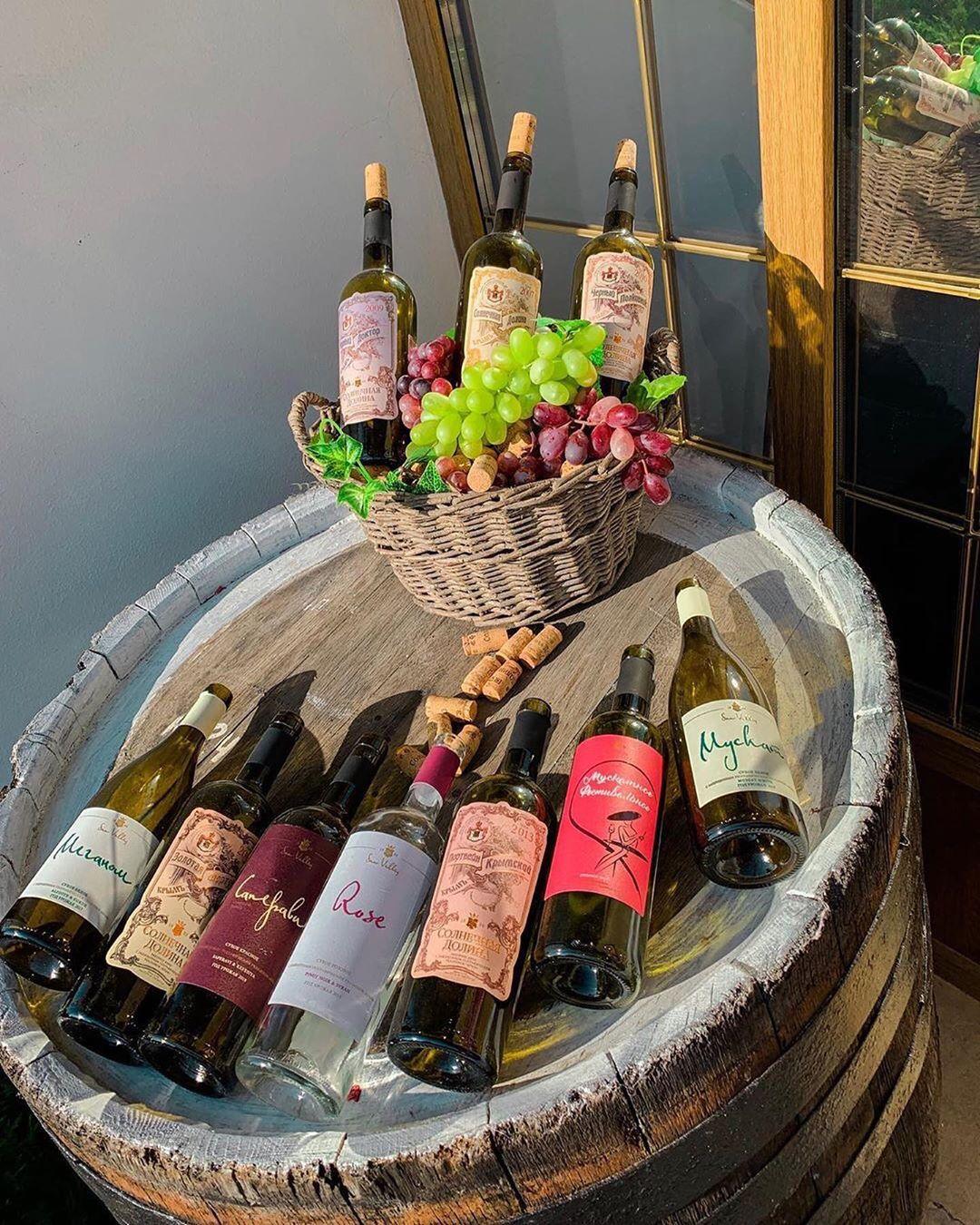 Экскурсии на винодельни в Феодосии