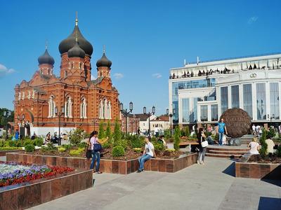 Тула: вдоль по Киевской