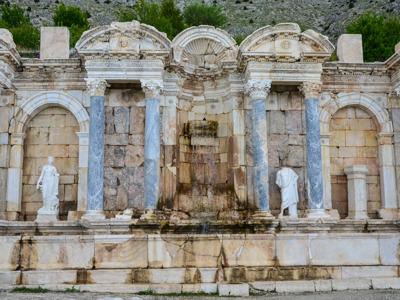 Фонтаны античного Сагалассоса