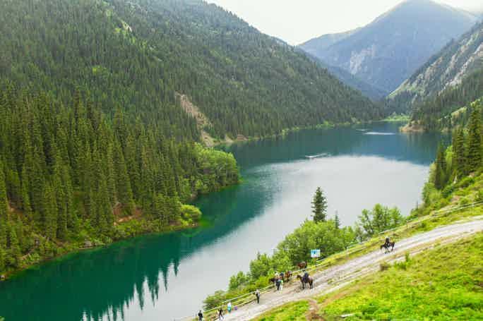 Озера Кольсай и Каинды на 1 день