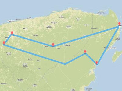 Мексика: 3-х дневный VIP тур по Юкатану3-х дневный тур поЮкатану