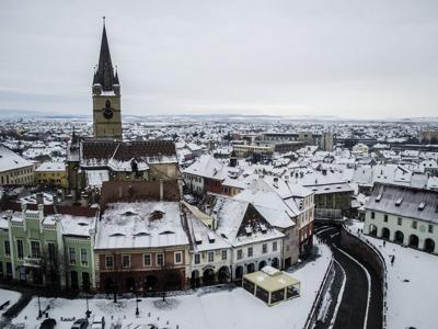Экскурсия в Сибиу, на высокогорную дорогу и в Ледяной отель из Брашова