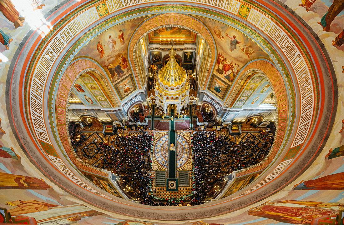 Как работает храм христа спасителя в москве