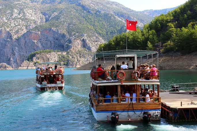 Малахитовое царство Турции: Зеленый каньон из Сиде