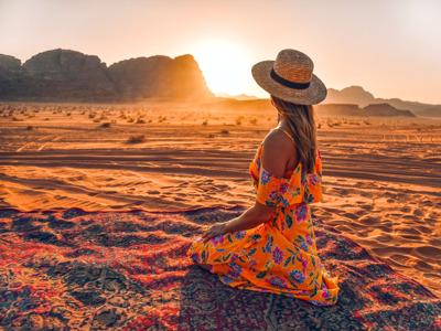 Петра и пустыня Вади Рам