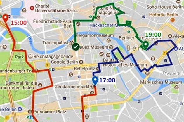 Экскурсия по красному маршруту — Третий рейх и Берлинская стена 15:00
