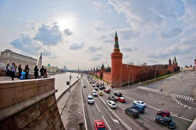 Обзорная автобусная экскурсия по Москве (3 часа)