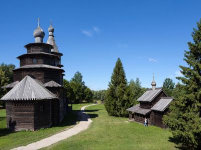 Музей деревянного зодчества «Витославлицы» и Юрьев монастырь