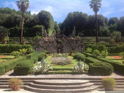 Удивительный сад в стиле итальянского барокко — вилла Гарзони
