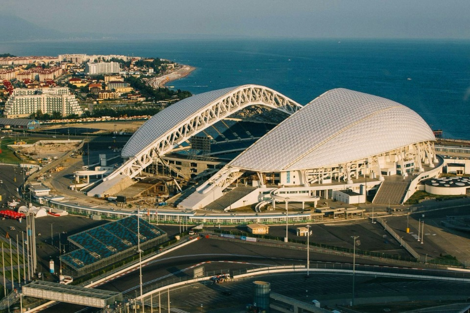 Олимпийский стадион Фишт фото