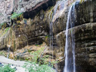 Малый и Большой Чегемские водопады