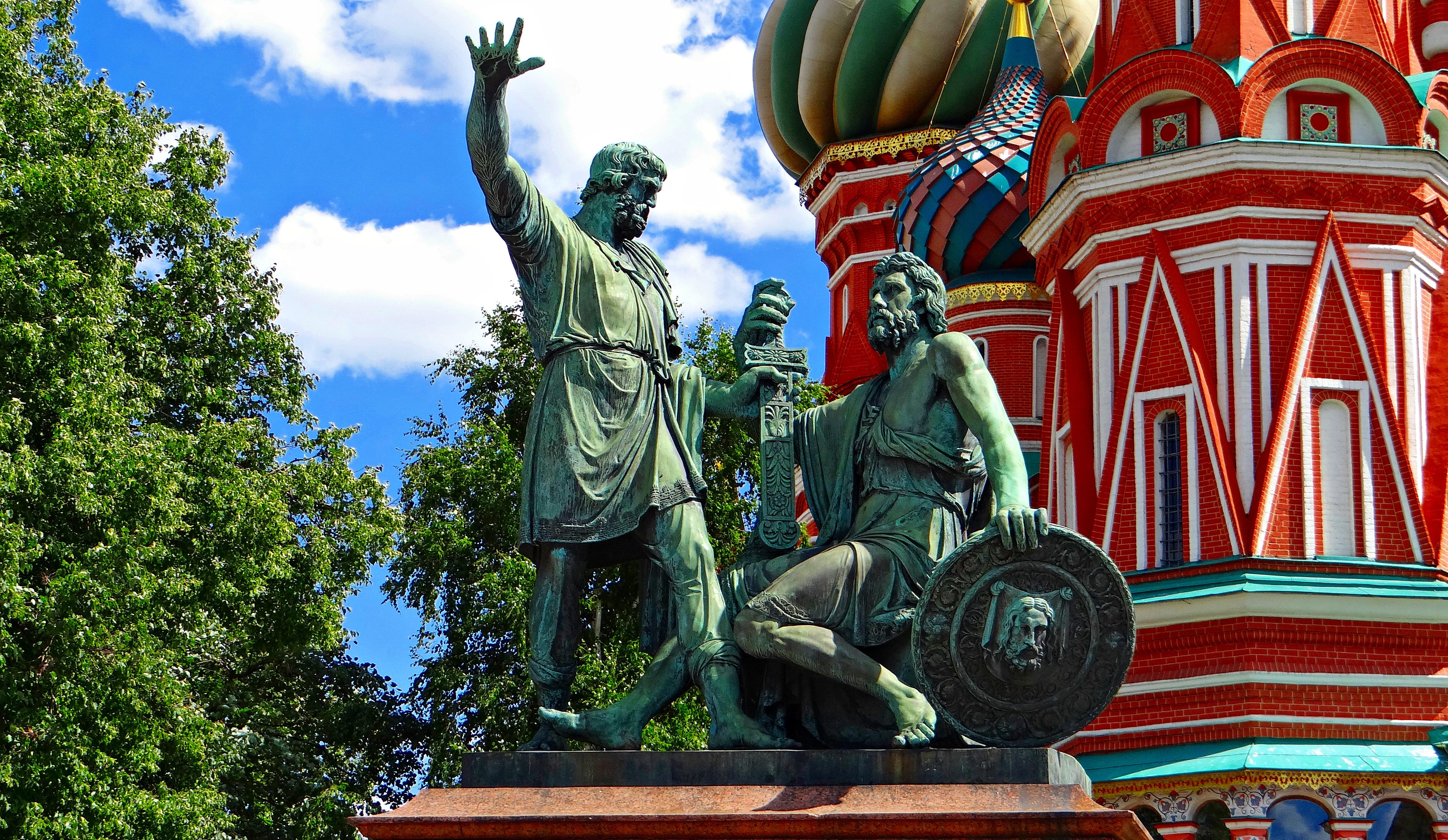 Фотография памятника Минину и Пожарскому