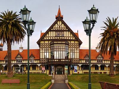 Онлайн-экскурсия «Новая Зеландия — городок Роторуа и переселенцы маори»