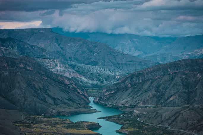 Путешествие на Сулакский каньон