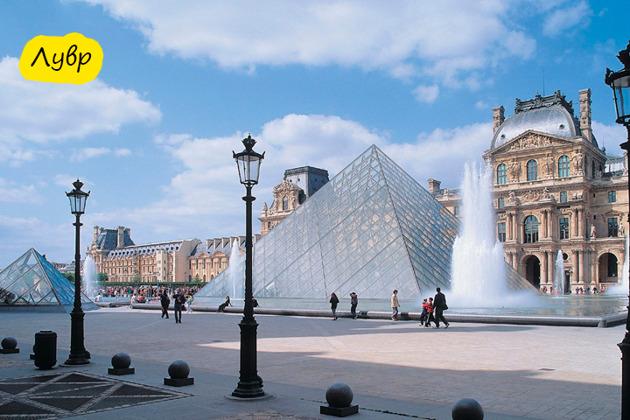 Экскурсия «Шедевры Лувра за 2 часа»