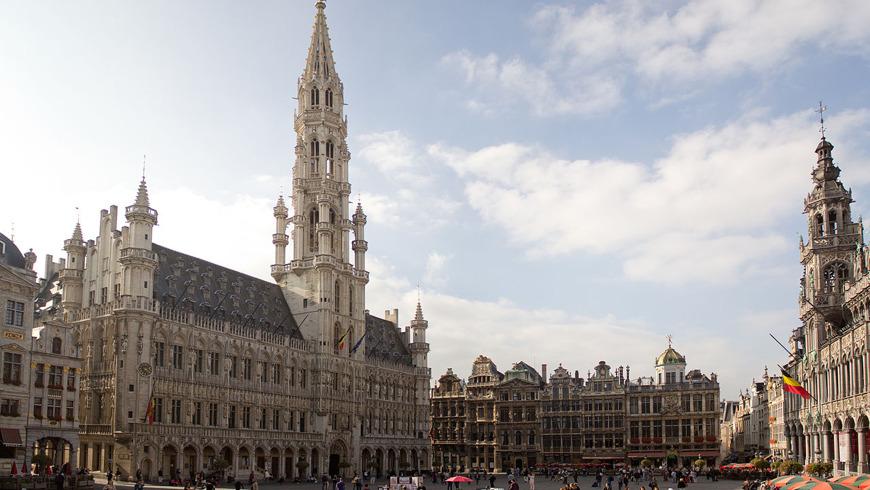 Увидеть всю красоту Брюсселя