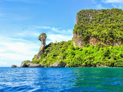 4 острова на скоростной лодке с Краби