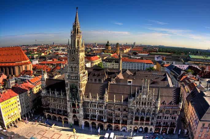 Пешеходная обзорная экскурсия по Мюнхену  Первое знакомство